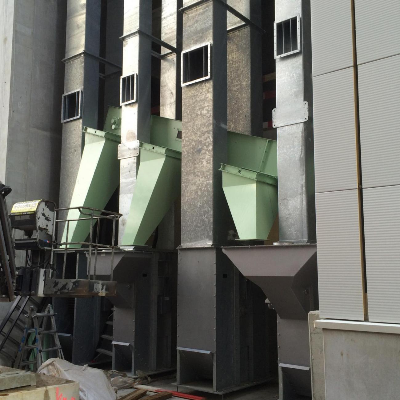 Elevatoren scheepslossing