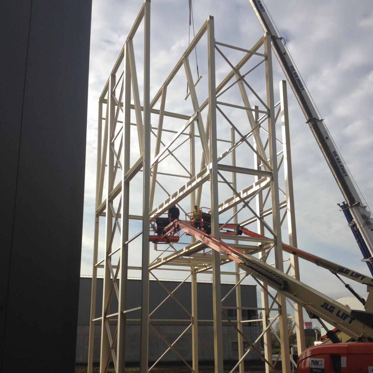 Draagstructuur silo's
