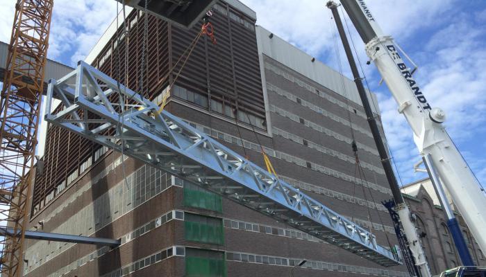 Uitbreiding silo 6